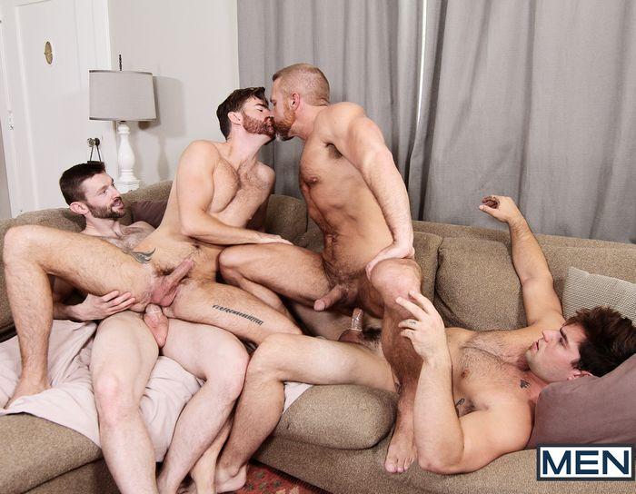 Gay Porn Aspen Brendan Patrick Dennis West Dirk Caber Orgy