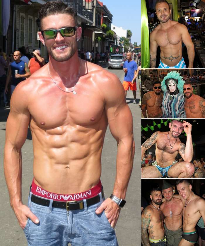 Gay Porn Southern Decadence Ryan Rose Austin Wolf Boomer Banks Rocco Steele Chris Harder