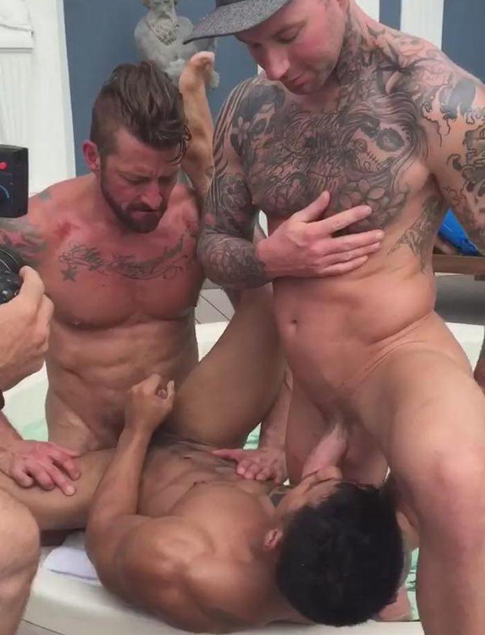 Fire Island Gay Sex Porn - Gay Porn Xavier Hux Dylan James Hugh Hunter