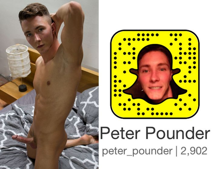 Peter Pounder Gay Porn Star Snapchat Snapcode