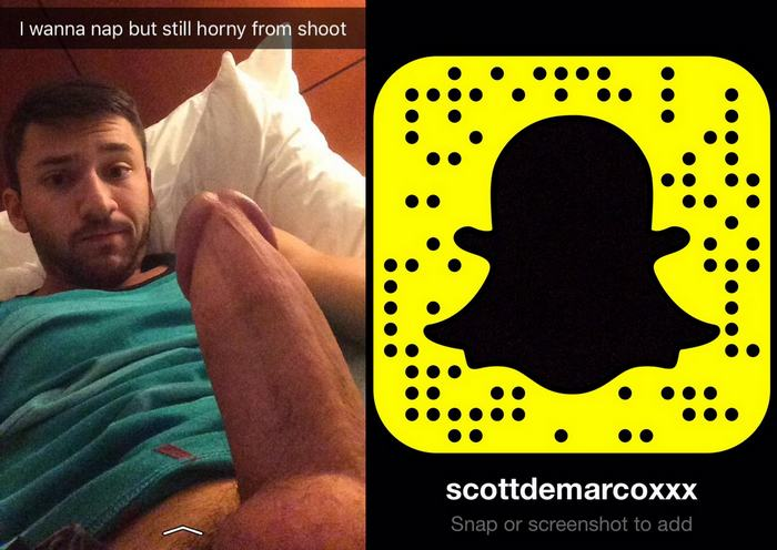 Scott DeMarco Snapchat Gay Porn Star