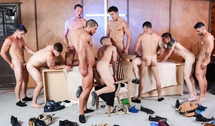 The Reunion 9-Man Gay Orgy