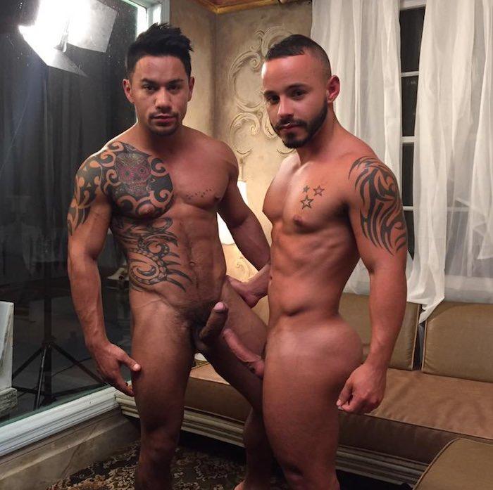 Fire Island Gay Sex Porn - Xavier Hux Rafael Lords Gay Porn LucasEnt BTS