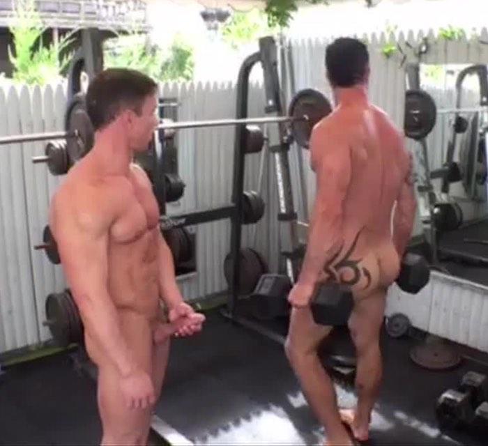 Alexander Volkov Adam Killian Gay Porn Ripped Muscle Hunks Workout