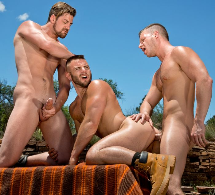 Gay circle jerk porn