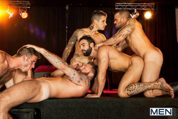 Gay Porn Orgy Damien Crosse Jimmy Fanz Pierre Fitch Dominique Hansson Abraham Al Malek Fuckfest
