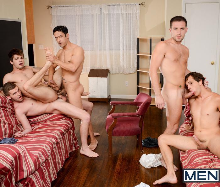 Gay Porn Orgy Rafael Alencar Johnny Rapid Dylan Knight Jack Radley Zac Stevens
