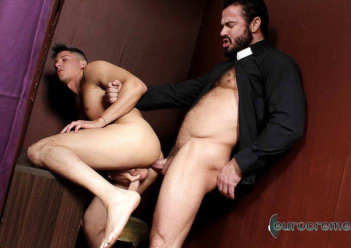 Jessy Ares Danny Montero Gay Porn Priest Sex