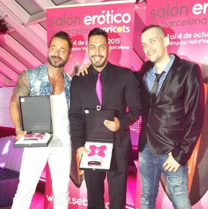 Ninfa Primera Linea Awards 2015 Martin Mazza Viktor Rom