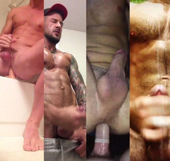 Scott Riley Dolf Dietrich Andy Banks Alex Mecum Gay Porn Jerk Off