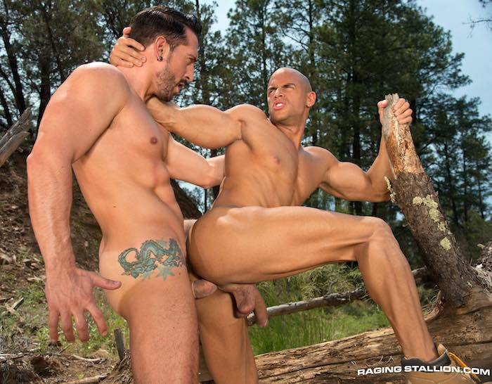 Sean Zevran Jimmy Durano Gay Porn Outdoor Sex
