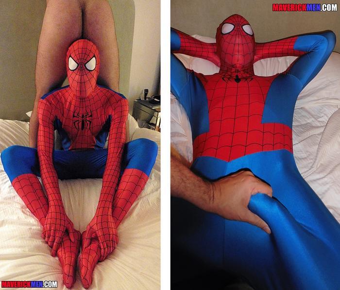 Spiderman gay sex
