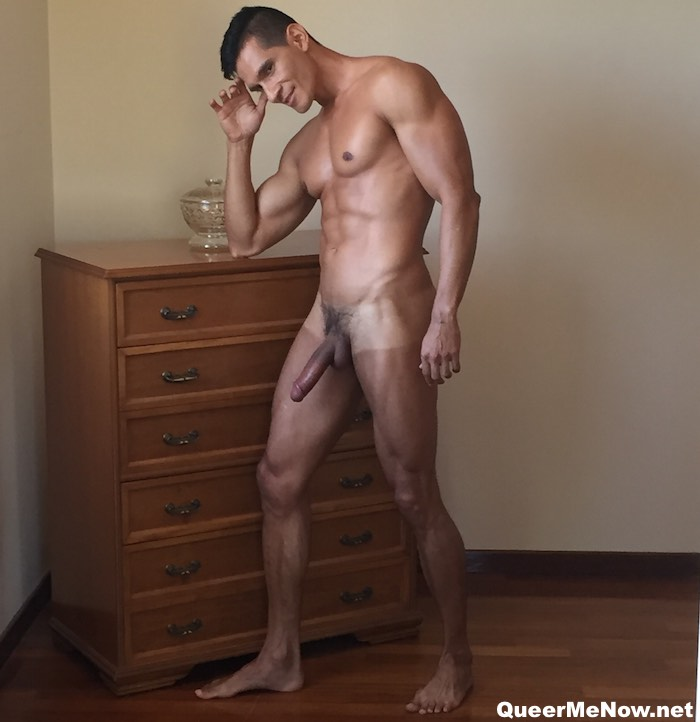 Dario Leon Gay Porn Star Colombian Muscle Naked