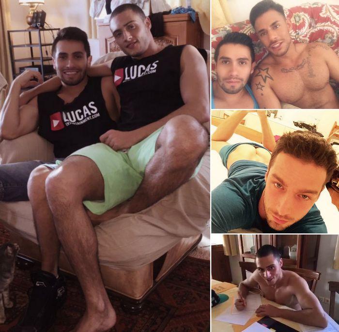Gay Porn Derek Allan Javi Velaro Sergyo Caruso Damon Heart
