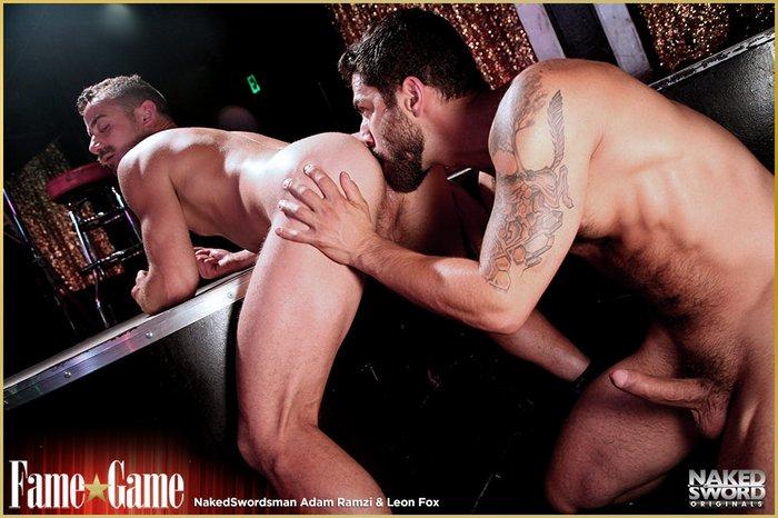 Gay Porn Leon Fox Adam Ramzi Nakedsword FameGame