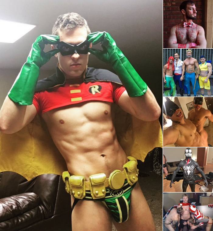 Gay Porn Stars Halloween Sexy Costume 2015