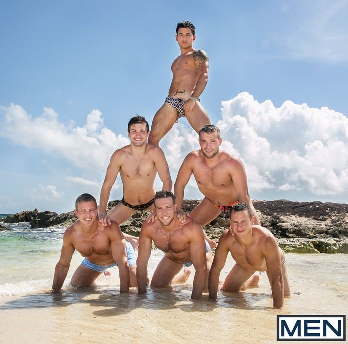 Gay Porn Stars MenAtSea Vadim Black Johnny Rapid Luke Adams Landon Mycles Alex Mecum Brenner Bolton