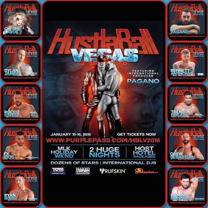 HustlaBall Las Vegas 2016 Gay Porn Stars Lineup