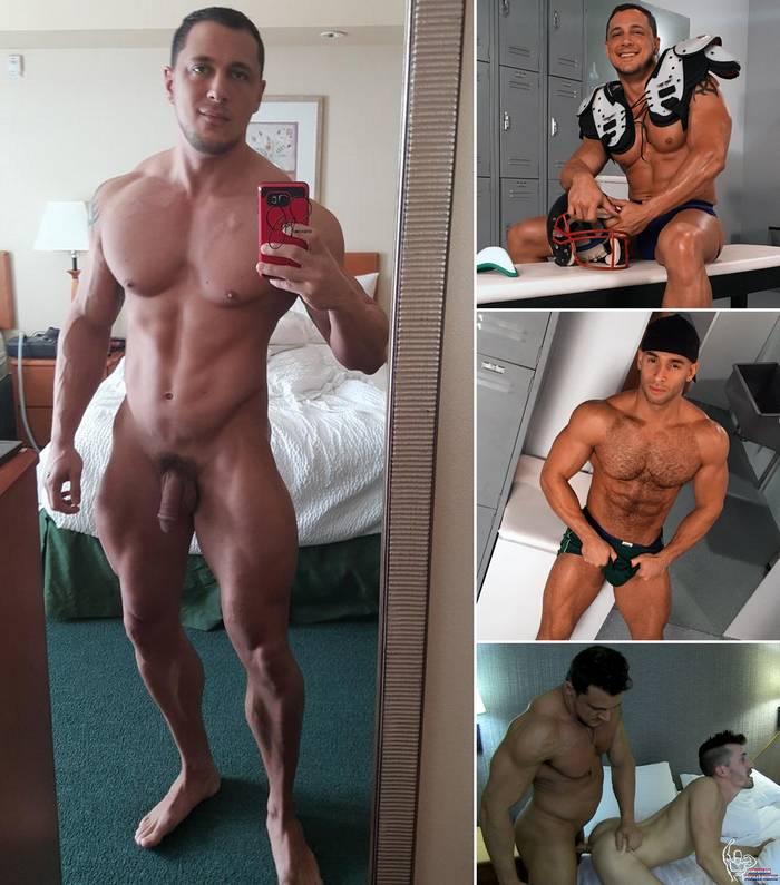 JoeyD Gay Porn Star Sean Zevran Shawn Andrews