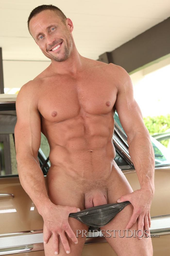 from Blake nude muscle couple