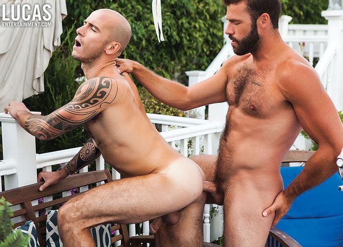 Xavier Jacobs Gay Porn Cam Christou Bareback Sex
