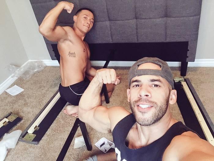big gay muscle guys sex
