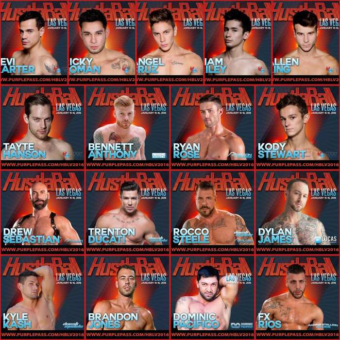 HustlaBall Las Vegas 2016 Gay Porn Star Performers