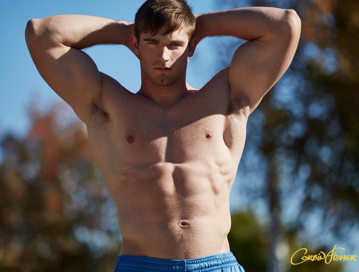 Keaton CorbinFisher Gay Porn Model Muscle Jock