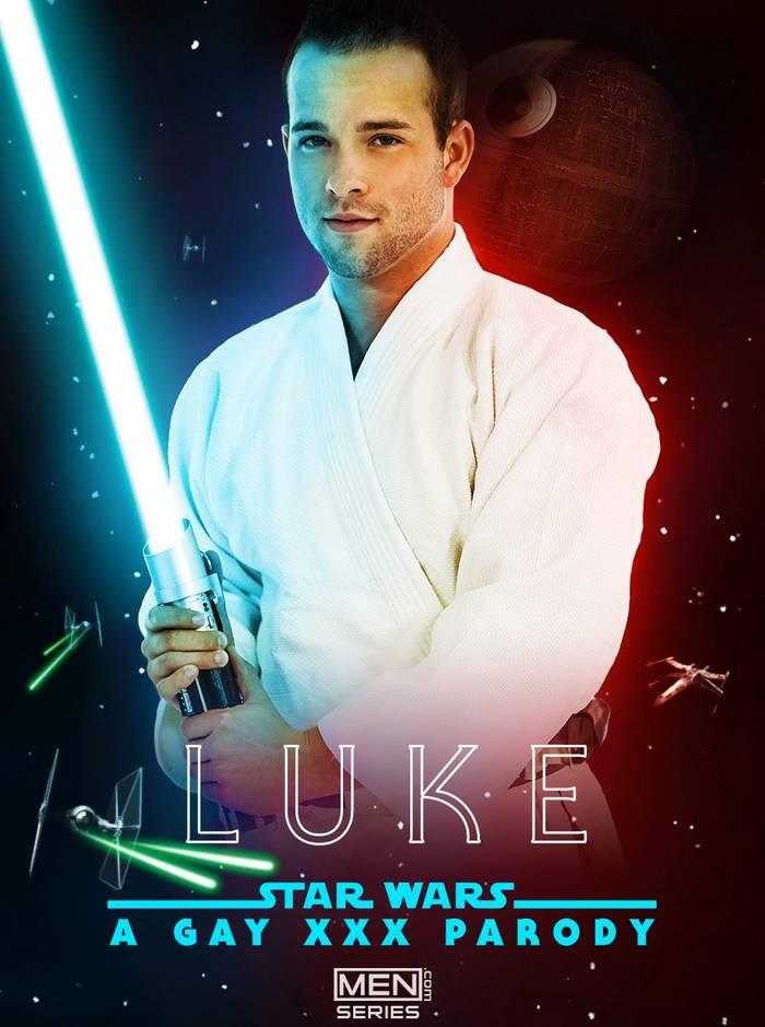 Luke Adams Star Wars Gay Porn Parody