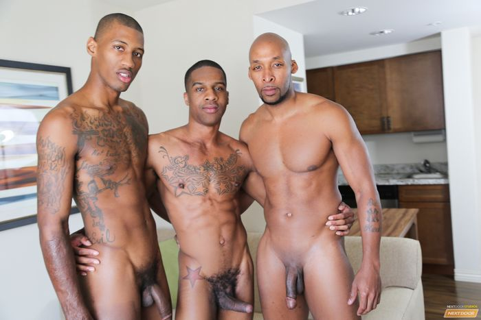 black gay group sex