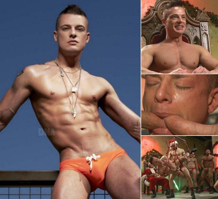 Rex Cameron Gay Porn Star DNA Magazine Underwear Gangbang KinkMen
