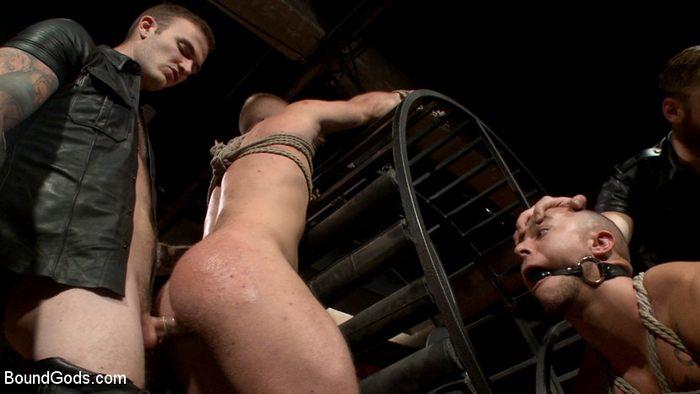 Scott Riley Eli Hunter Christian Wilde Gay Porn KinkMen 2