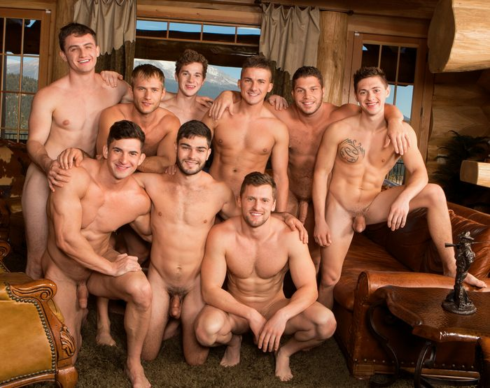 the orgy Biggest world male gay in