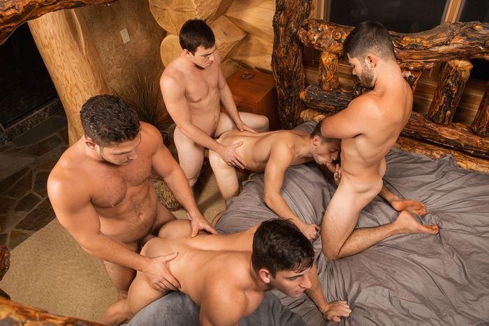 Another older bi carl and 2 friends - 3 part 4
