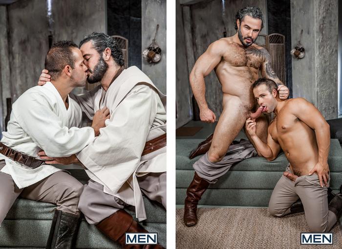 Gay porno Star Wars