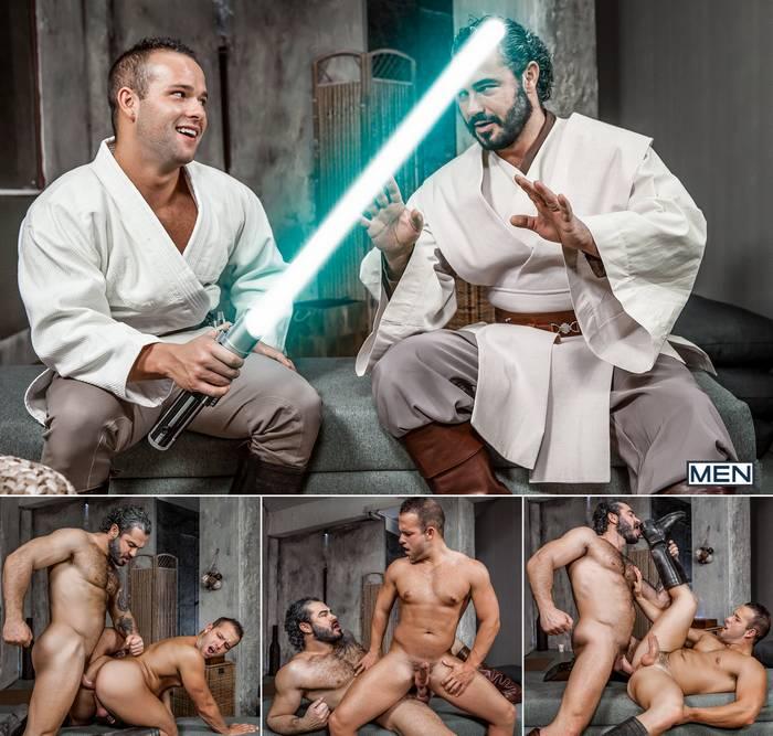 Star Wars Gay XXX Parody Luke Adams Jessy Ares Obi-Wan Luke Skywalker Porn