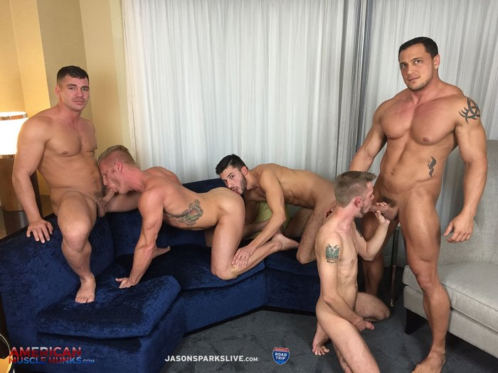 Orgy porn muscle gay