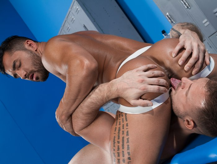 Bruno Bernal Gay Porn Star Austin Wolf Rimming Bubble Butt