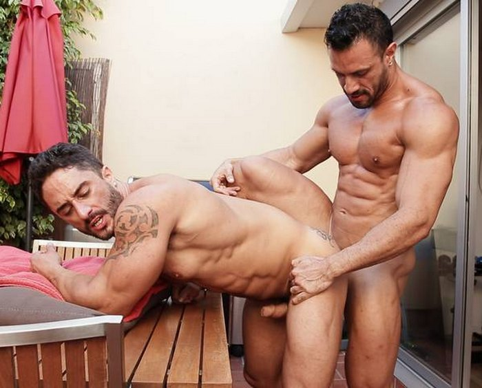 Flex Xtremmo Gay Porn Star Robin Sanchez Bodybuilder Muscle Sex