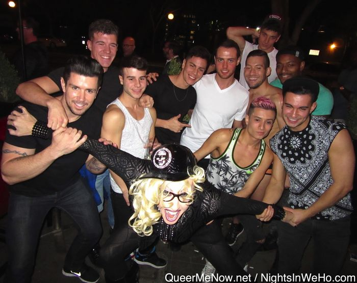 Gay Porn Stars Chi Chi LaRue Party West Hollywood 2016