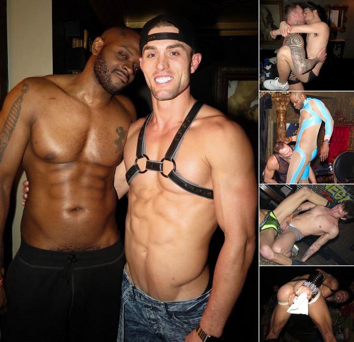 Gay Porn Stars HustlaBall Las Vegas 2016 Ryan Rose Diesel Washington Dylan James Bray Love Dallas Steele Tayte Hanson Andrea Suarez
