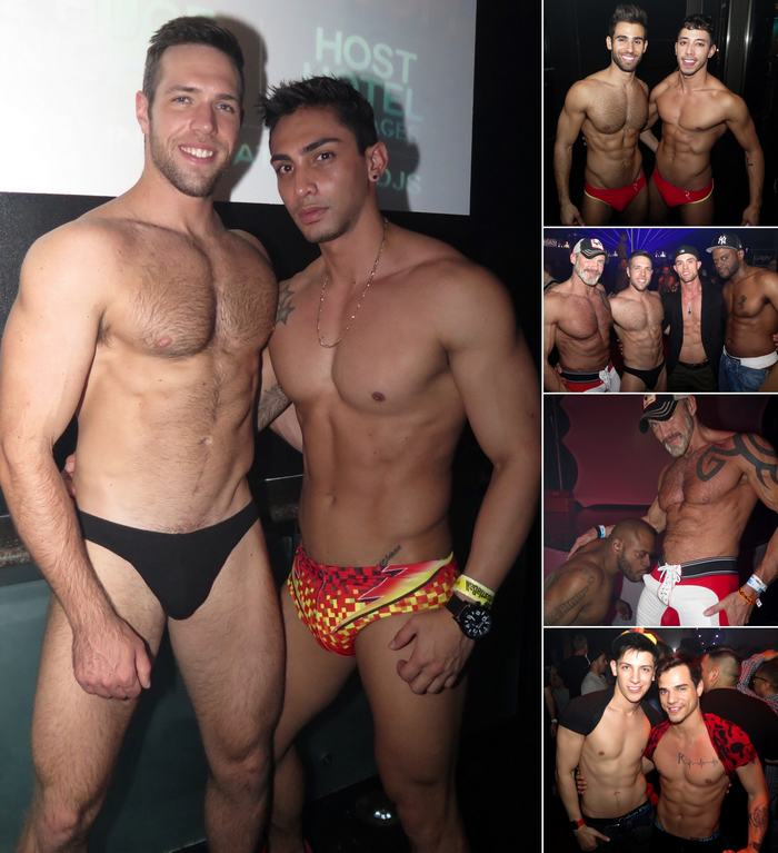 Gay Porn Stars HustlaBall Las Vegas Closing Party Alex Mecum Drae Axtell Pablo Hernandez Dallas Steele Diesel Washington Ryan Rose