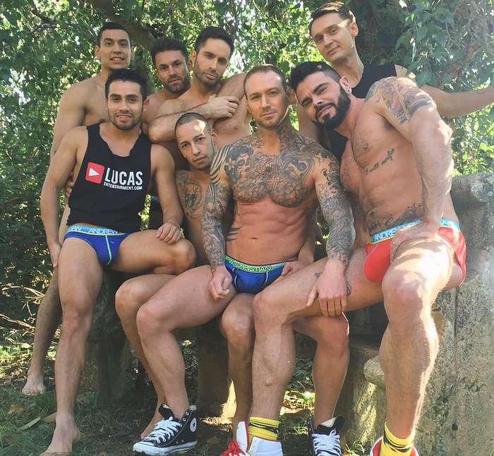 Gay Porn Stars LucasEntertainment Greece 2016