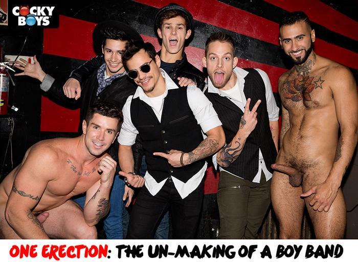 Gay Porn Band - One Erection CockyBoys Gay Porn Stars