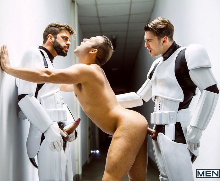 Paddy OBrian Gay Porn Star Luke Adams Hector De Silva Star Wars Gay XXX Parody