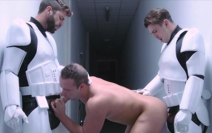 Paddy OBrian Gay Porn Star Luke Adams Hector De Silva Stormtrooper Star Wars Gay XXX Parody