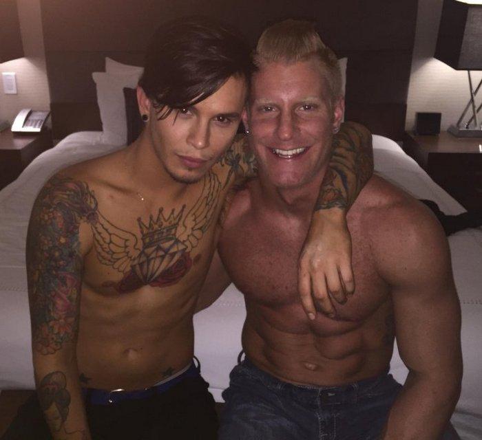 Seth Knight Gay Porn Star JohnnyV