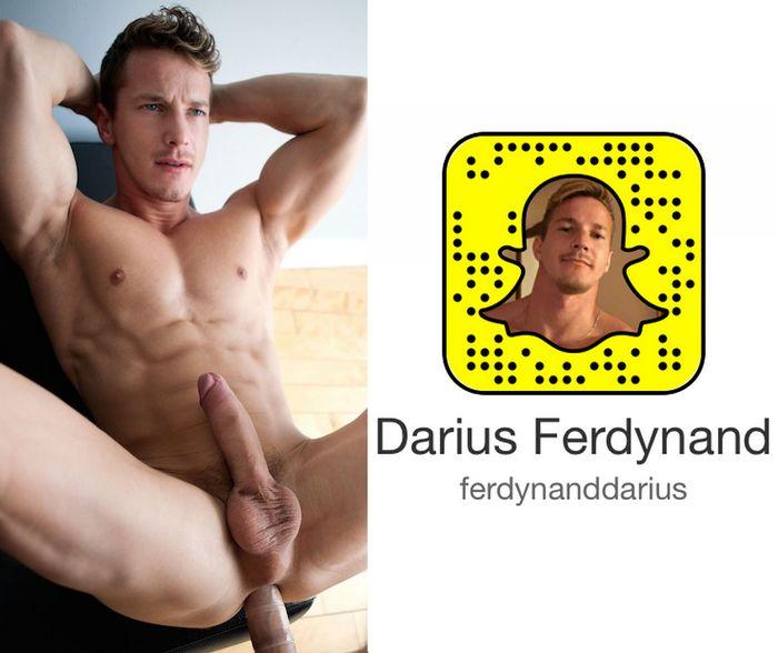 Darius Ferdynand Gay Porn Star Snapchat Snapcode