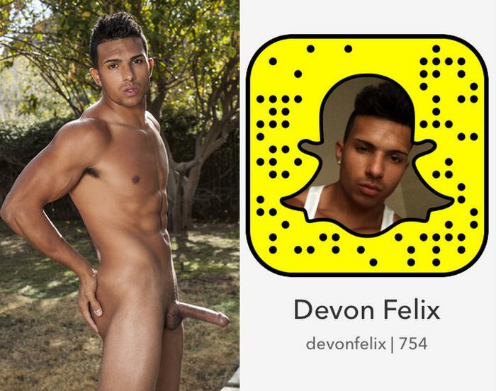 Devon Felix Gay Porn Star Snapchat Snapcode