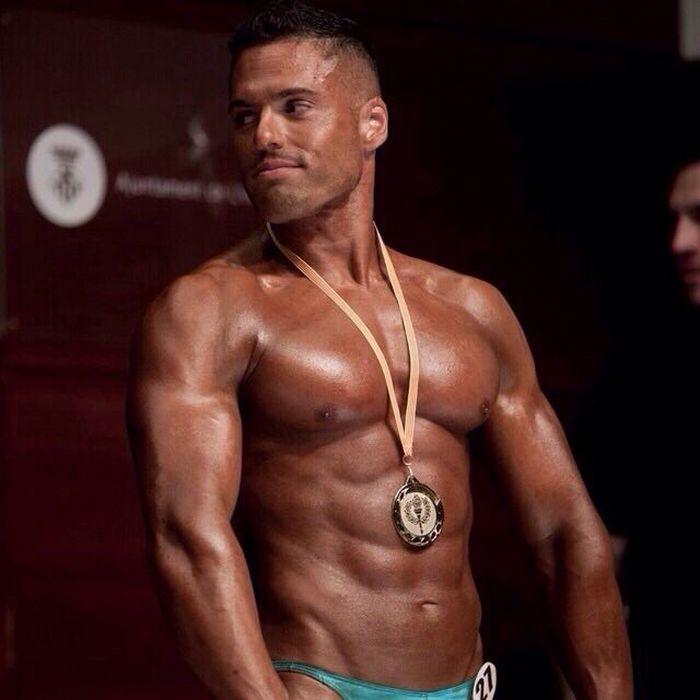 Gabriel Lunna Gay Porn Star Bodybuilder 3